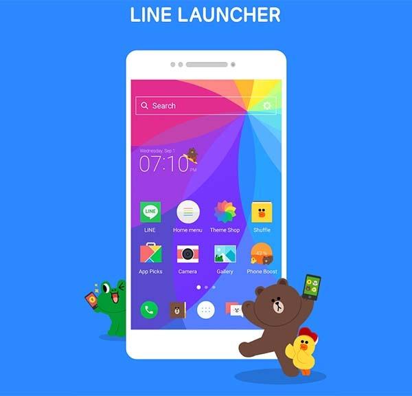 Cómo personalizar el aspecto de tu Android con LINE Launcher