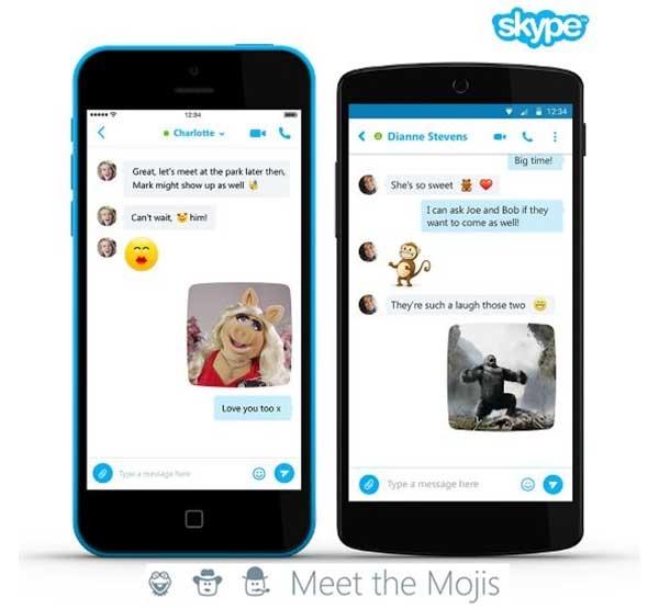 Éstos son los nuevos emoticonos Moji de Skype