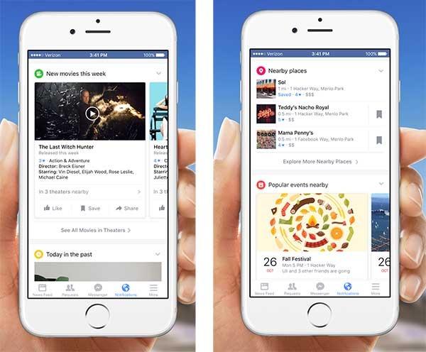 facebook nuevas notificaciones