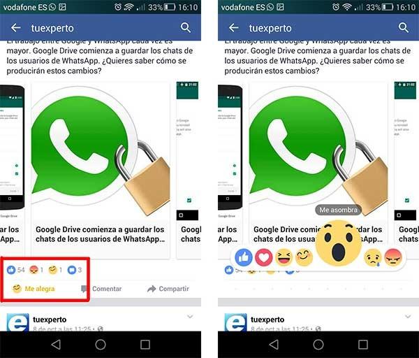 facebook android rápido