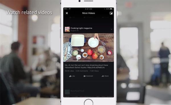 Facebook lanza una aplicación para ver sus vídeos en la TV