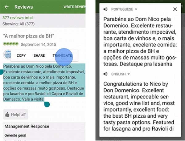 traductor de google en apps