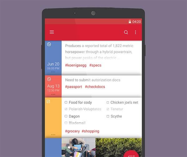 Ésta es la nueva app de notas de Microsoft para Android