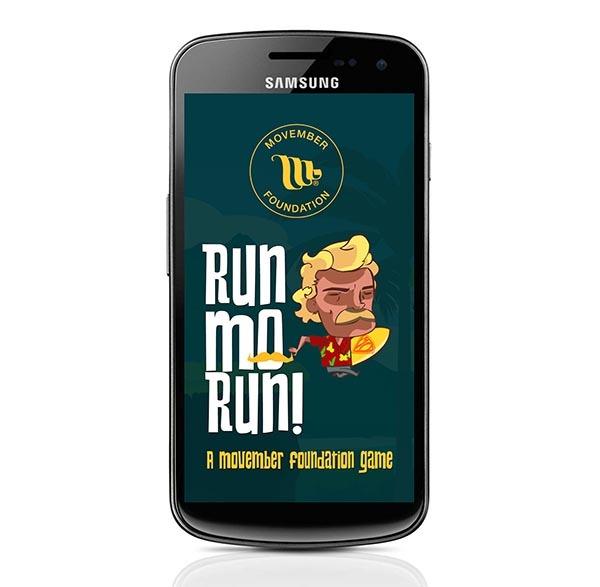 Run Mo Run!, el juego de bigotes para colaborar con Movember