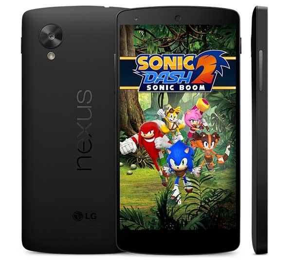 Sonic Dash 2: Sonic Boom, el erizo azul vuelve a los móviles