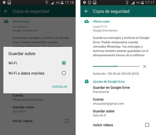 whatsapp google drive tutorial