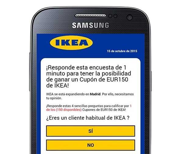 Utilizan a IKEA para un nuevo timo de WhatsApp