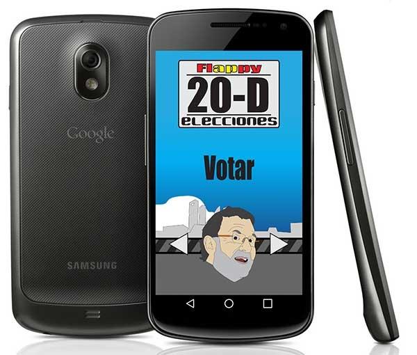 Flappy Elecciones, el juego de humor de las elecciones del 20D