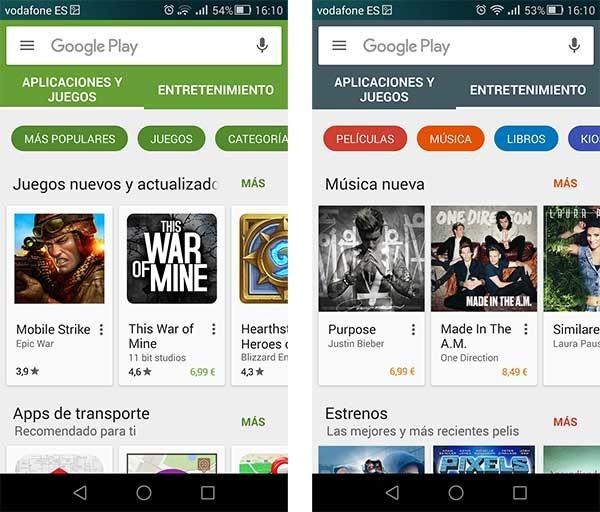 Las 10 aplicaciones más populares de Google Play
