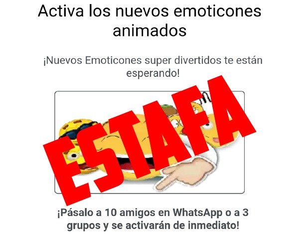 Si ves este mensaje en WhatsApp, alguien podría estar accediendo a tus contactos