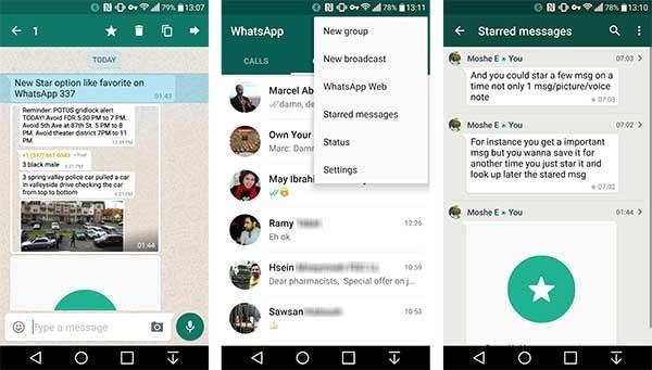 whatsapp mensajes favoritos
