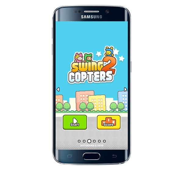 Swing Copters 2, así es el nuevo juego del creador de Flappy Bird