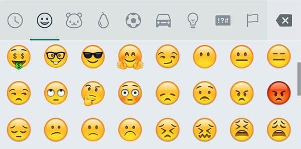whatsapp emoji unicode 8 android