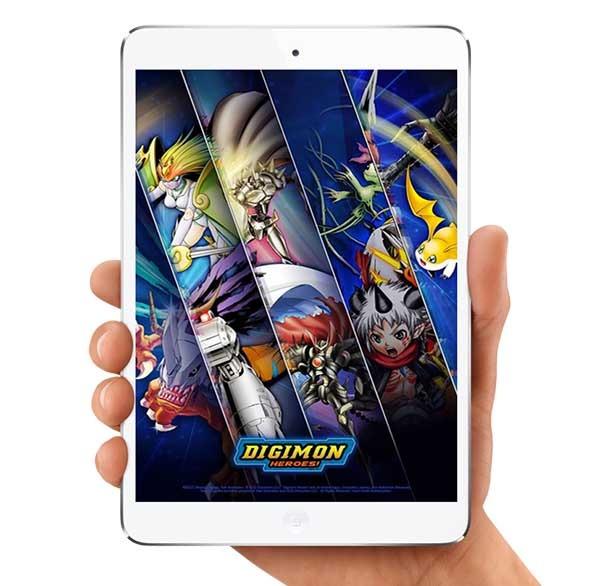 Digimon Heroes, el nuevo juego de cartas y batallas de Digimon