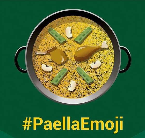 Así debería ser el emoticono Emoji de la paella