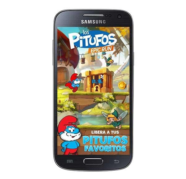 Los Pitufos Epic Run, corre para liberar a los personajes de tu infancia