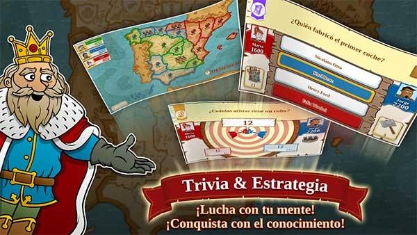 Triviador, conquista el mundo en este juego de preguntas multijugador