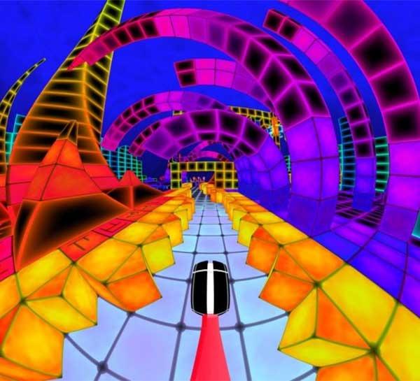 Dub Dash, un juego de música dubstep de lo más psicodélico
