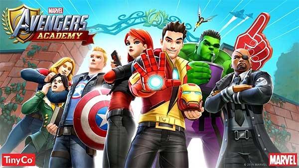 Marvel Academy Avengers, construye la academia de los superhéroes de Marvel