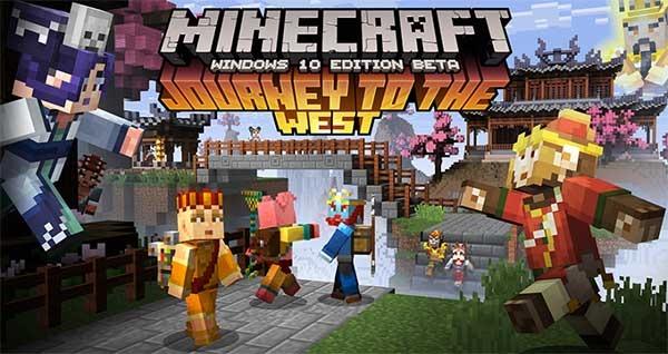 Minecraft Viaje al Oeste, nuevos skins para el juego de construcción
