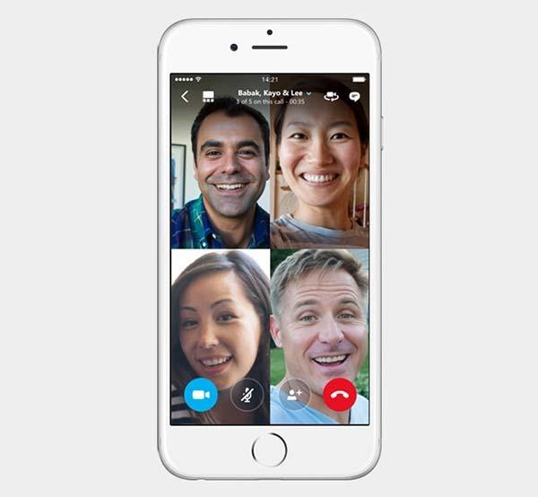 Skype estrena las videollamadas en grupo
