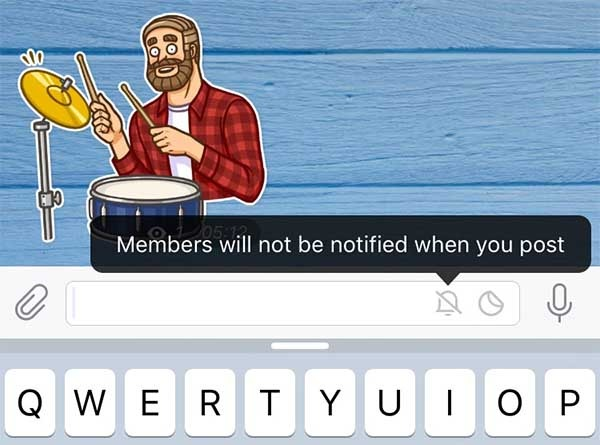 telegram corregir mensajes