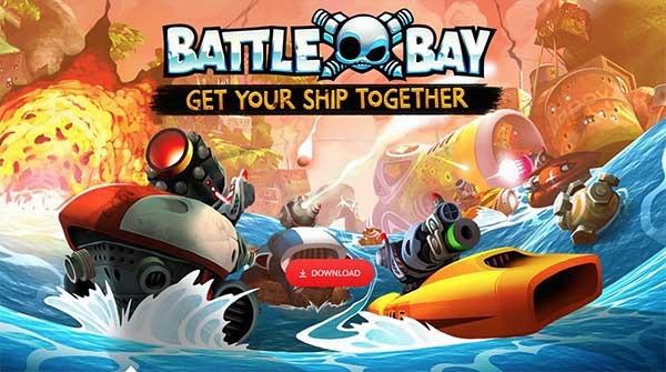 Battle Bay, un juego de batallas navales de los creadores de Angry Birds