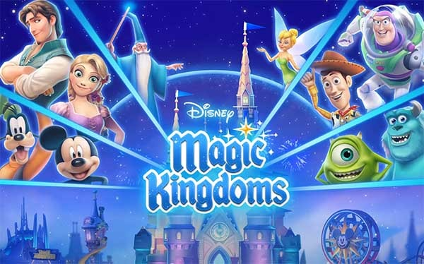 Disney magic kingdoms crea tu propio disneyland en casa for Crea tu mural disney