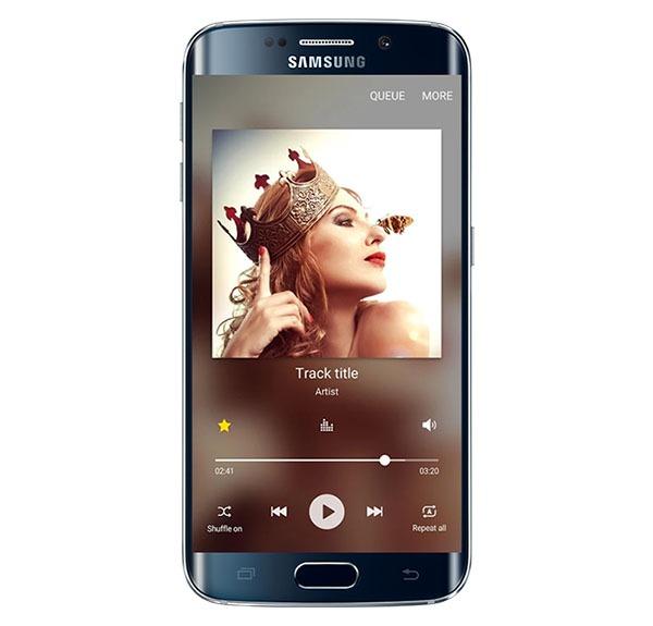 Así es el nuevo aspecto del reproductor de música de Samsung