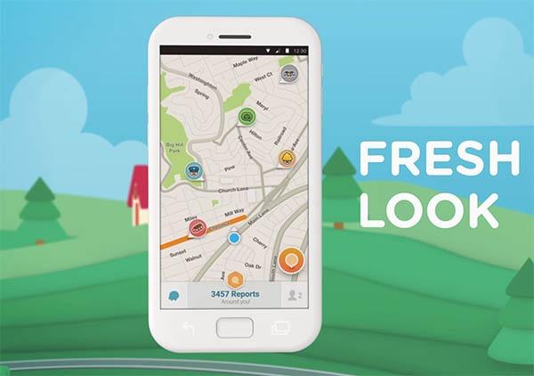 Así es el nuevo aspecto del navegador para coches Waze en Android