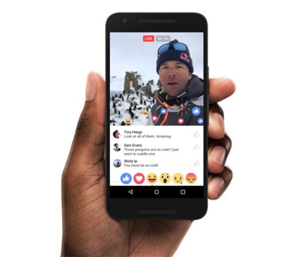 Éstas son las novedades en las retransmisiones en vivo de Facebook