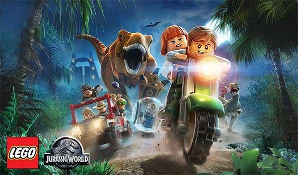 LEGO Jurassic World, dinosaurios y figuras de LEGO juntos en el mismo juego