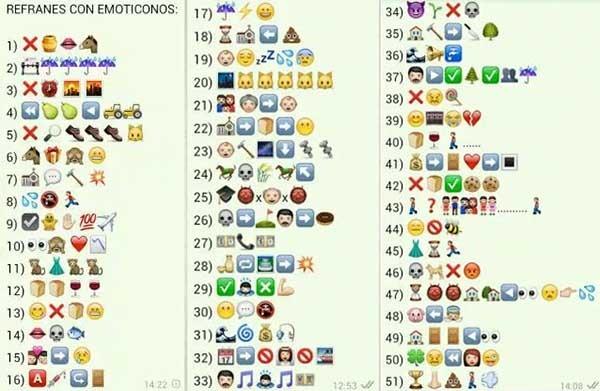 Los Cinco Acertijos Con Emoticonos Mas Divertidos Para El Whatsapp