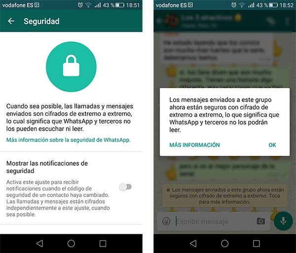 whatsapp seguridad total