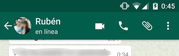 whatsapp videollamadas botón