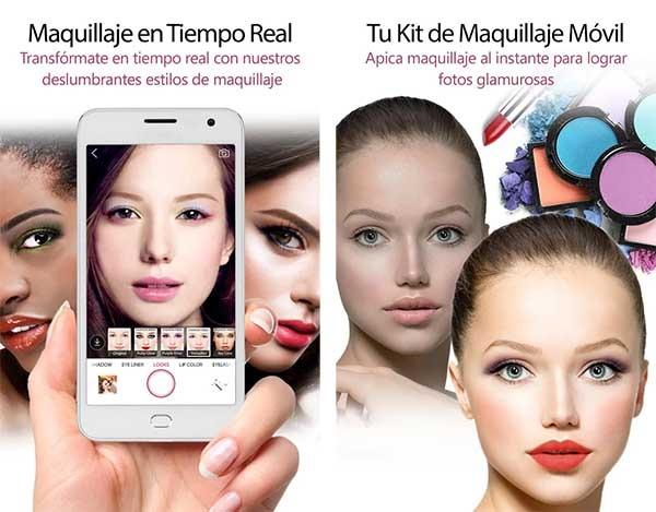 maquillajes para editar fotos