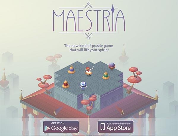 Maestria, un bonito juego de puzles y música para el móvil