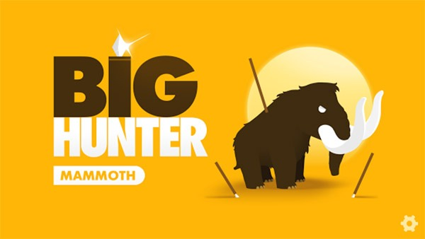 Big Hunter, caza a un mamut en este divertido juego para móviles