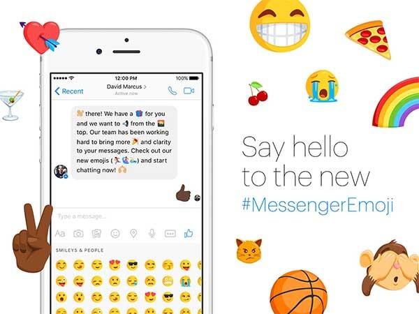 Estos son los nuevos emoticonos Emoji de Facebook Messenger