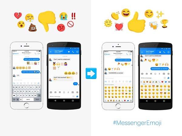 facebook messenger nuevos emoji