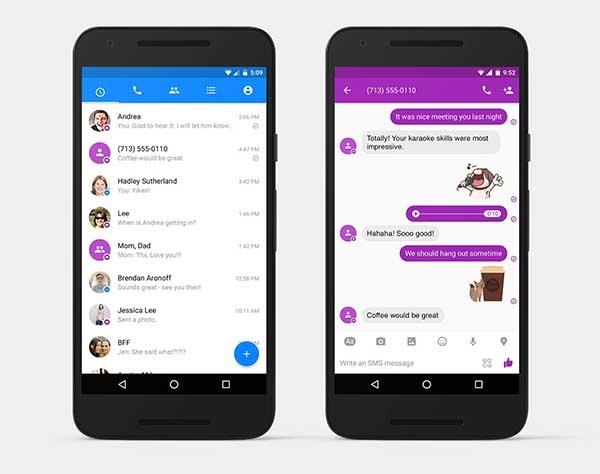 Facebook Messenger también quiere encargarse de tus viejos mensajes de texto