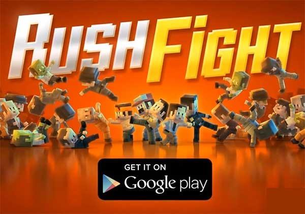 Rush Fight, date de tortas contra hordas de enemigos en este juego de lucha