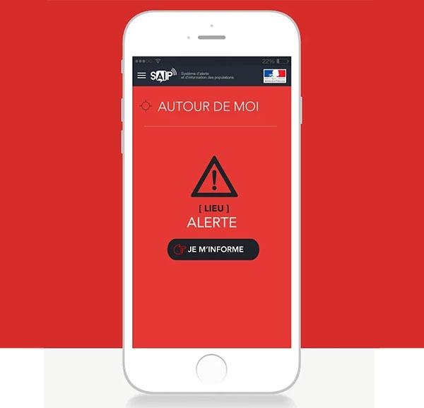 Francia lanza una app para alertar de ataques terroristas en la Eurocopa 2016