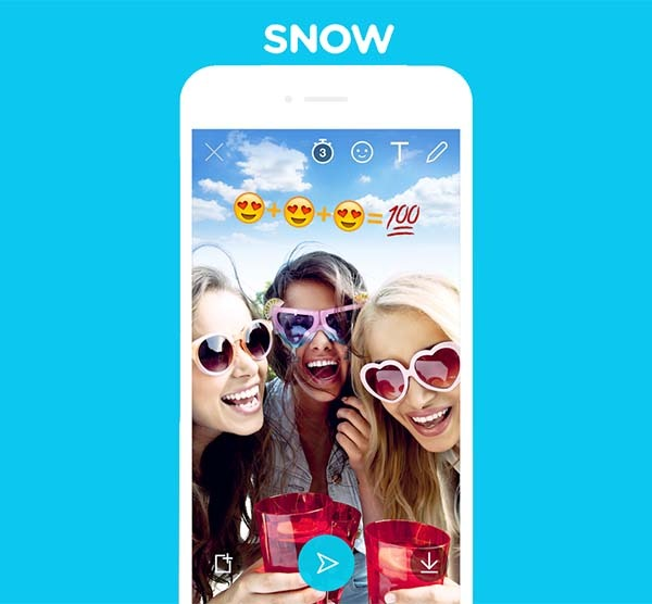 Snow, la interesante alternativa a Snapchat