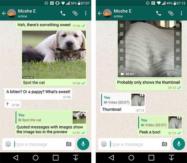whatsapp respuestas