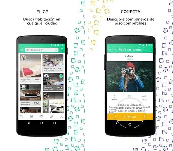 5 apps para encontrar y compartir piso sin morir en el