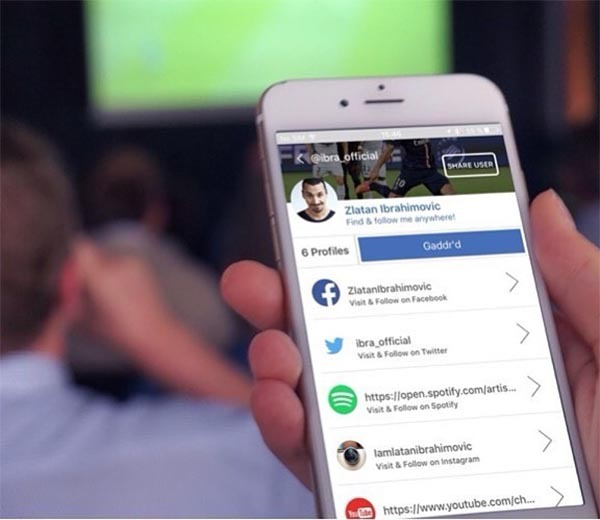 Gaddr, sigue a tus famosos favoritos en todas sus redes sociales con esta app
