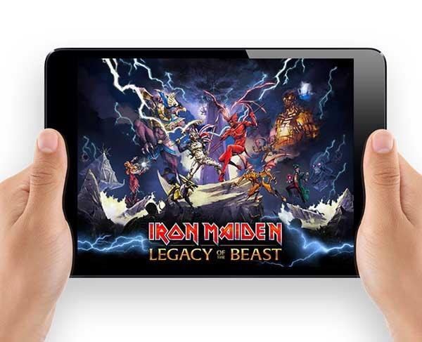 Maiden: Legacy of the Beast, el juego para móviles de Iron Maiden
