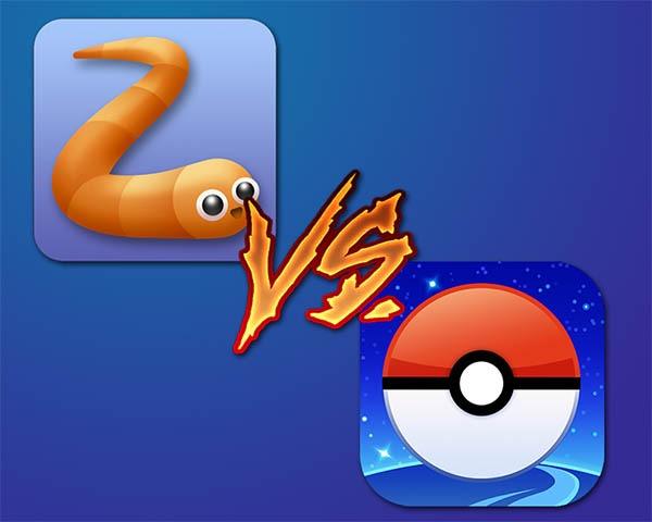 Pokémon GO desbanca a Slither.io en descargas