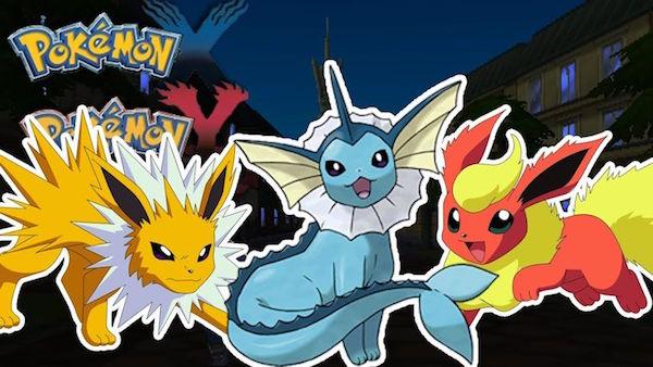 Cómo evolucionar a Eevee en Vaporeon, Flareon o Jolteon en Pokémon GO